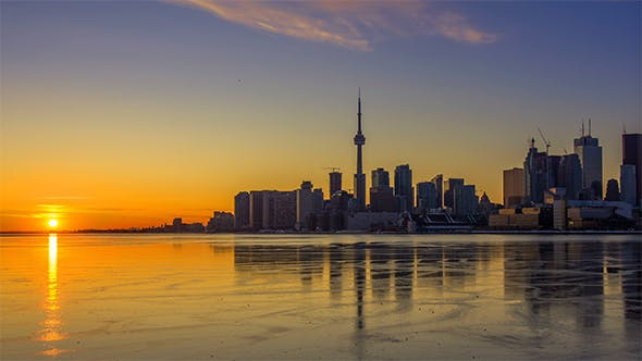 Thumbnail for Toronto at Sunset
