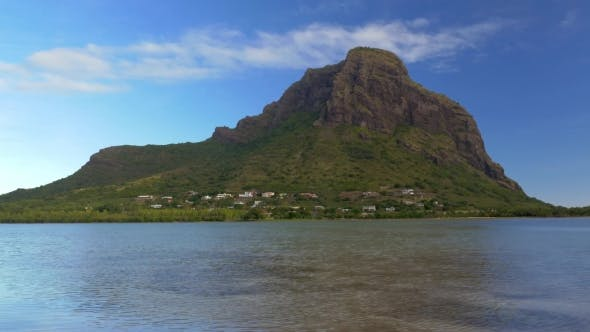 Thumbnail for Waterside View of Le Morne Brabant, Mauritius