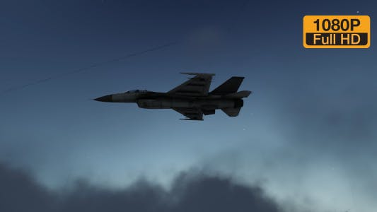 Thumbnail for Fighter Aircraft at Night Flying