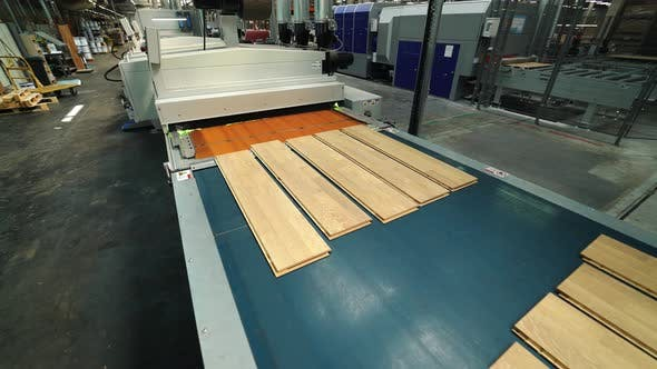 Parquet Production Technology