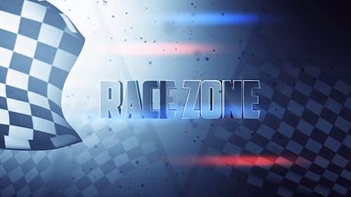 Race Zone - Title design