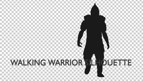 Thumbnail for Warrior Silhouette - Walk
