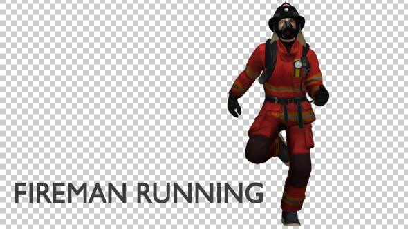 Thumbnail for Fireman Running