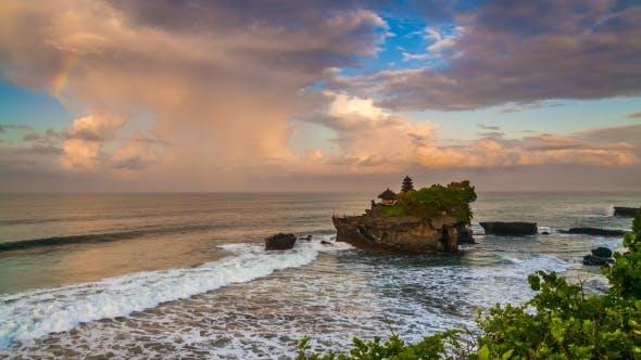 Thumbnail for Pura Tanah Lot Temple at Sunset. Bali
