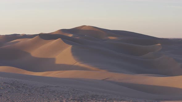 Thumbnail for Pan right of sand dunes