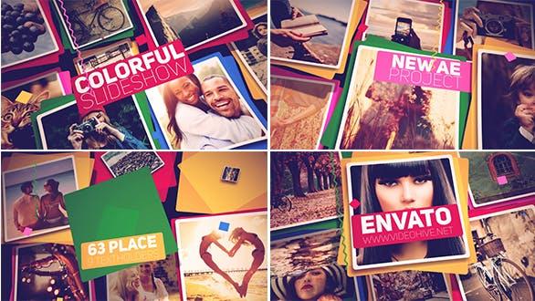 Thumbnail for Presentación de diapositivas de colores