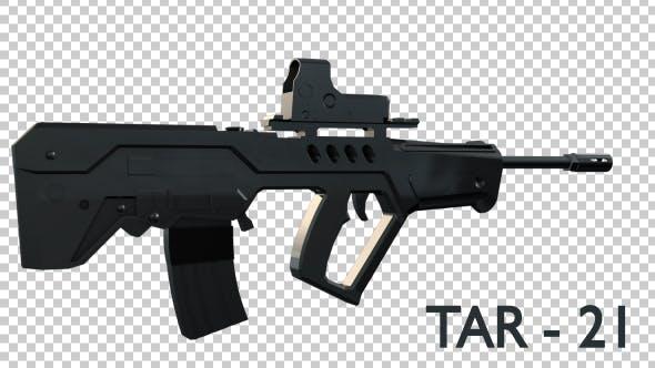Tar 21 Military Gun