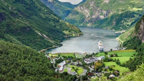 , Geiranger Fjord, Norway