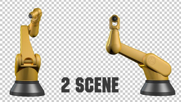 Thumbnail for Robotic Arms - 2 Scene