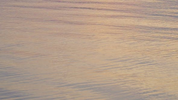 Thumbnail for Beautiful Water of Sunset Reflected in Water