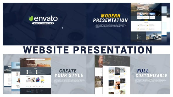 Thumbnail for Minimal Website Presentation