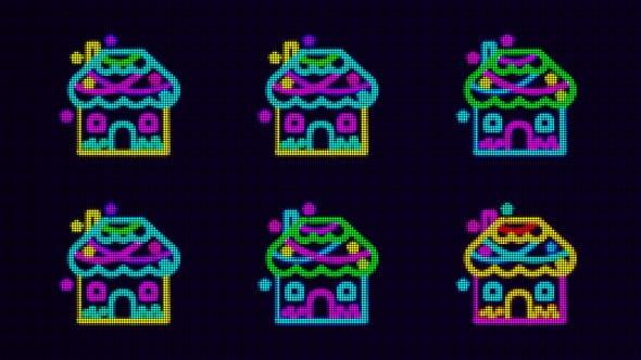 Thumbnail for 4K House V2 VJ 9 in 1