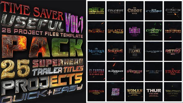 Download 28 Marvel Editable Video Templates - Envato Elements