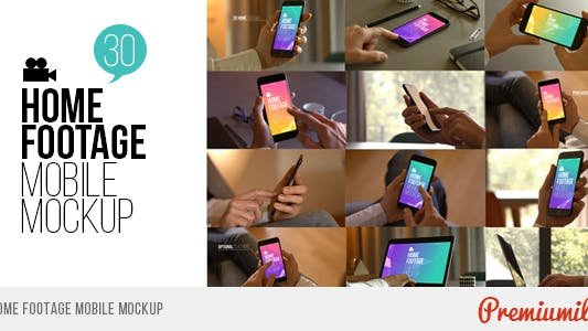 Thumbnail for Home Footage Mobile Mockup
