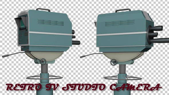 Thumbnail for Retro TV Studio Camera
