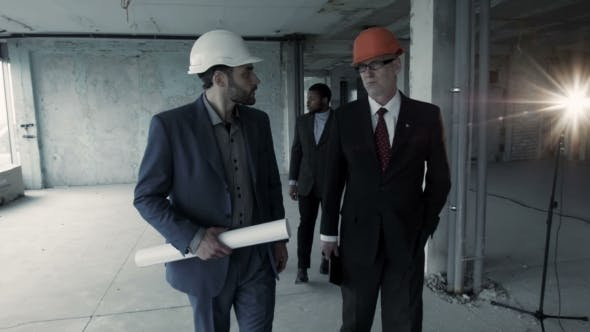 Thumbnail for Director, Accompanied By a Lawyer and Realtor, Inspects the Building, Intending To Rent It