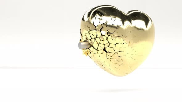 The Bullet Hits the Heart of Gold and Breaks It Into Small Pieces