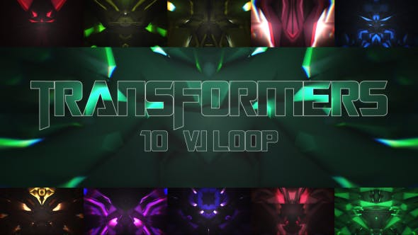 Thumbnail for Transformers VJ Loop V.1