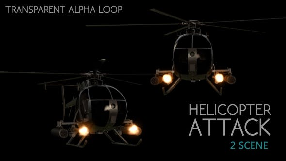 Thumbnail for Helicopter Attack - 2 Scene