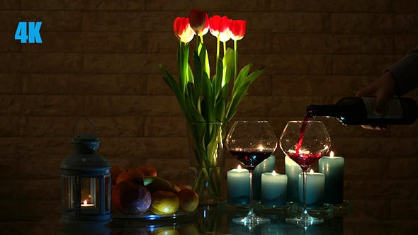 Thumbnail for A Romantic Candlelit Dinner