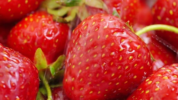 Thumbnail for Washing Strawberries With Water