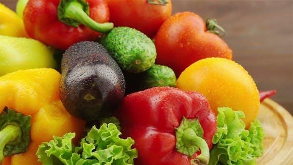Thumbnail for Frisches Gemüse drehen