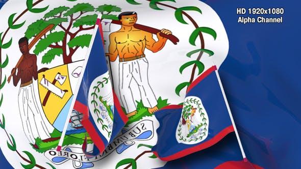 Thumbnail for Flag Transition - Belize