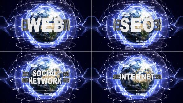 Thumbnail for Social Network, Seo, Internet, Web