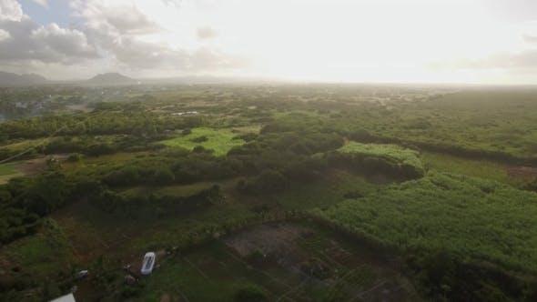 Thumbnail for Aerial Landscape of Mauritius Island
