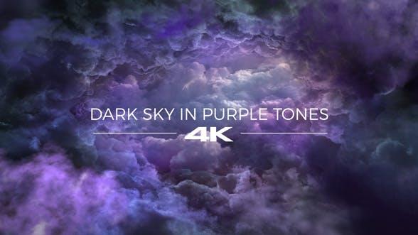 Thumbnail for Dark Sky in Purple Tones