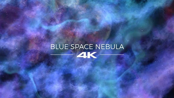 Thumbnail for Blue Space Nebula