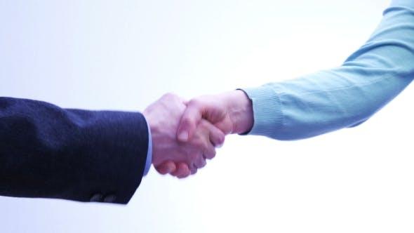 Thumbnail for Business Partners Handshake - Men and Women