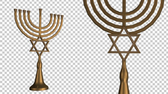 Thumbnail for Golden Menorah