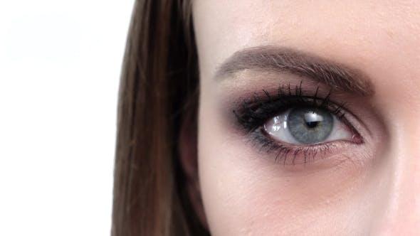 Thumbnail for Blue Eye Makeup. Beautiful Eyes Makeup.