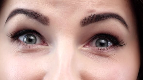 Thumbnail for Amazing View of a Girl Wiht Blue Eyes.