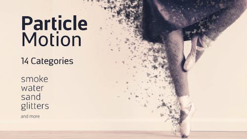 Particle Motion - Photo Animation Particular Effects