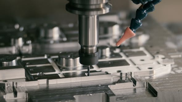 Thumbnail for A Milling Machine at the Plant