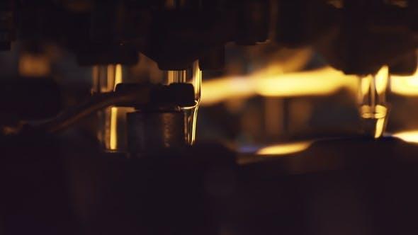 Thumbnail for Ein großer Ofen an der Glasbläserei