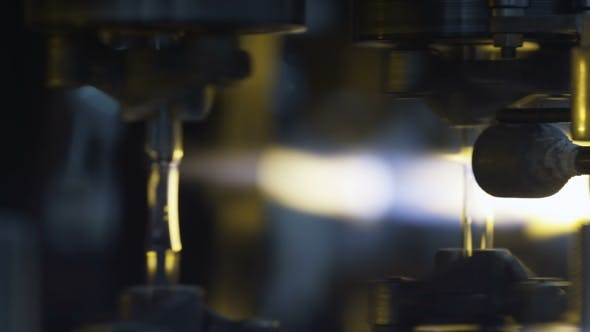Thumbnail for Firing Glass at the Glass-blowing Plant