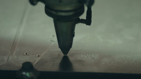 Thumbnail for The Cutting of Metal with Laser