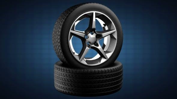 Thumbnail for Loop Rotate Car Wheel
