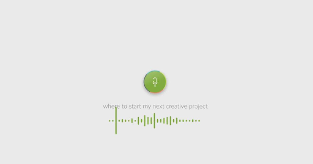 Voice Search Logo by soundeleon