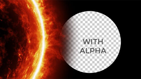 Thumbnail for Sun Close Up Rotation