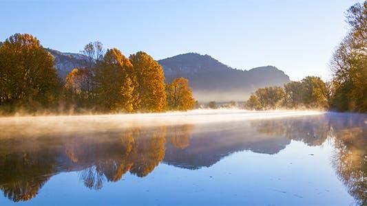 Thumbnail for Autumn Fog River