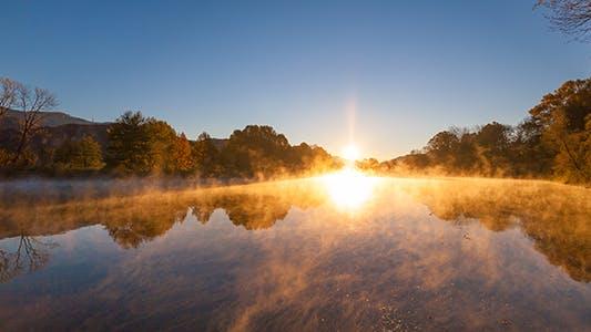 Thumbnail for Sunrise Fog Autumn