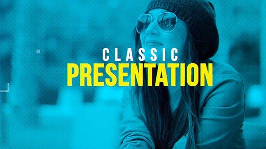 Thumbnail for Presentación clásica