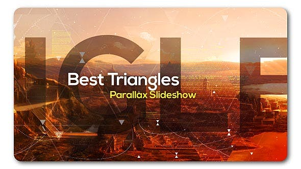 Best Triangles Parallax Slideshow