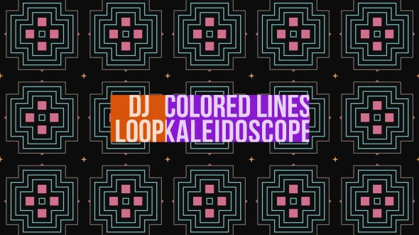 Thumbnail for Colored Lines Dj Loop