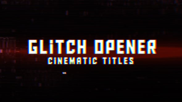 Thumbnail for Digital Glitch Opener