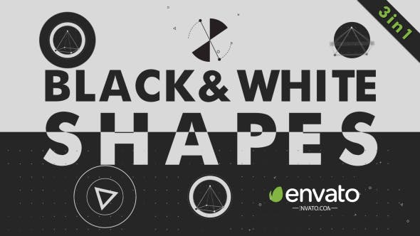 Thumbnail for Black White Shapes